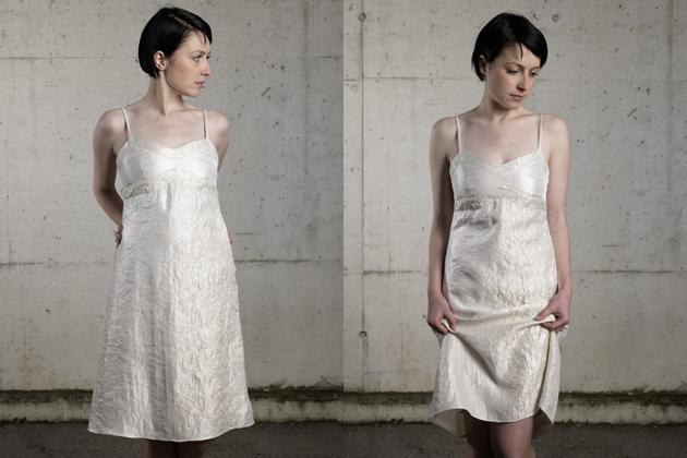 Kleid ecru MDModedesign