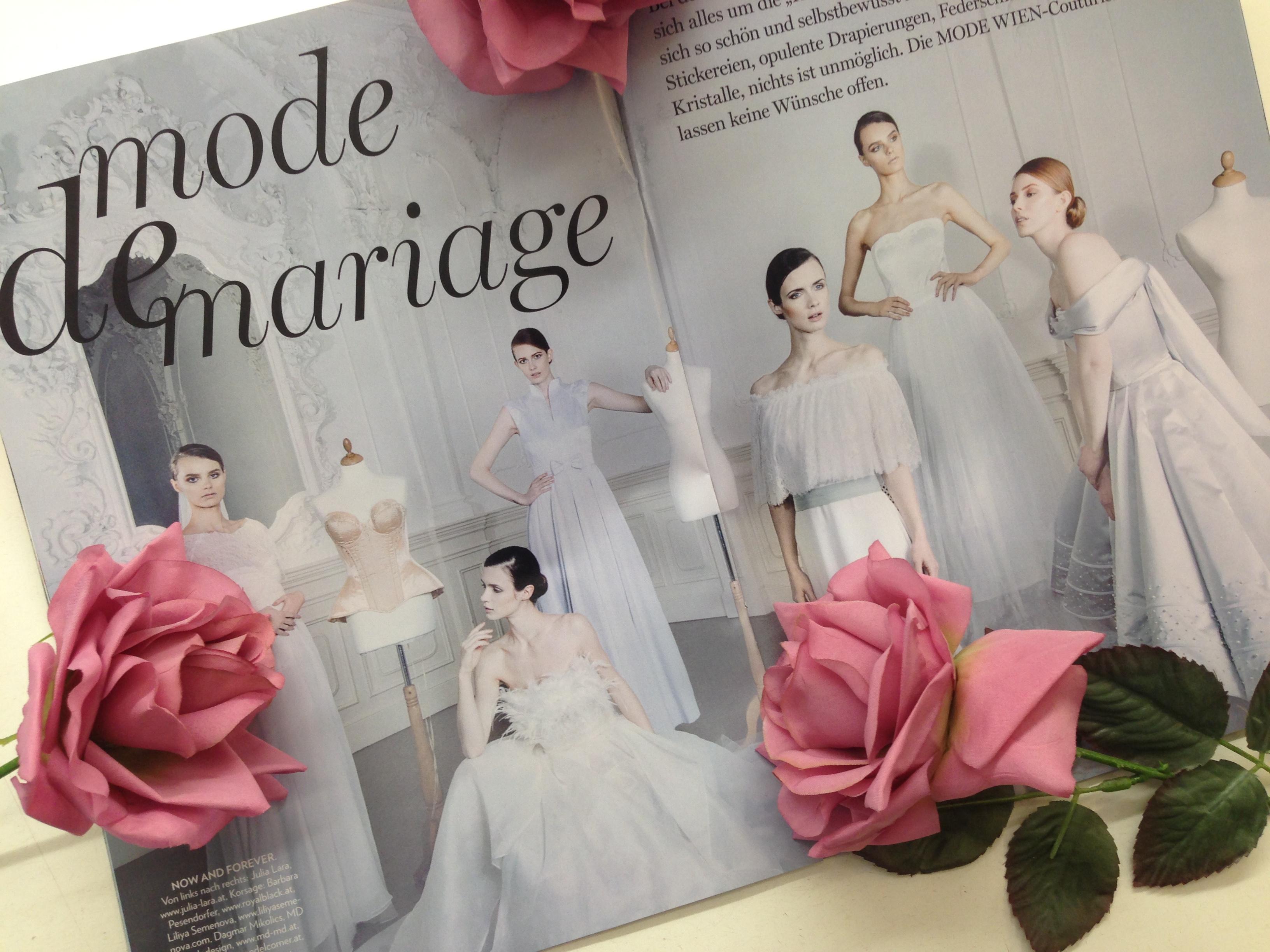 Mode Wien Hochzeitskleid MDModedesign