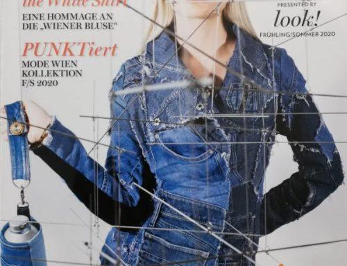 Jeans – Upcycling im aktuellen MODE-WIEN Magazin